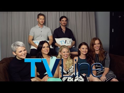 """""""Once Upon A Time"""" Interview at Comic-Con 2015 - TVLine"""