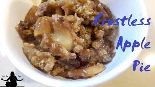 Crust-less Apple Pie in Pressure Cooker