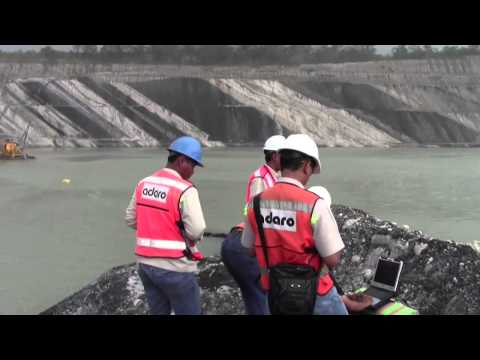 Oceanscience Z-Boat 1800 Coal Mine Water Remote Surveying 2013