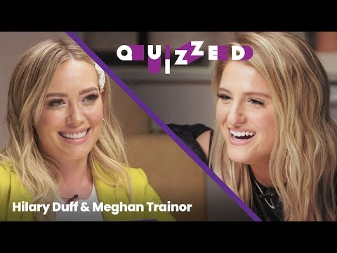 Jeff Stevens - Meghan Trainor Gets QUIZZED by Hilary Duff on 'The Lizzie McGuire Movie'
