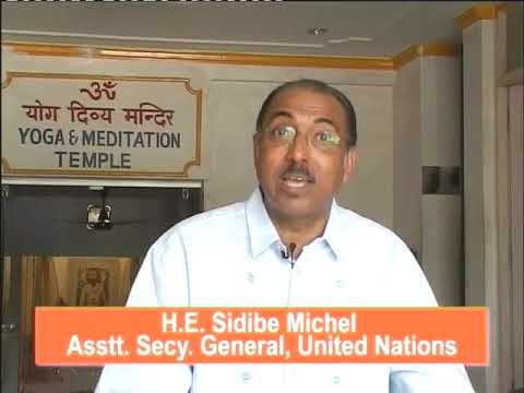Asst Secy General, United Nations talks about how Swami Lal ji's Yoga helped him