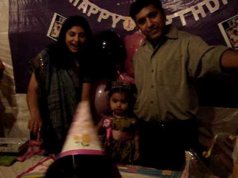 Prachi' S1st Birthday
