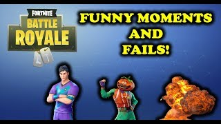 FORTNITE - FUNNY MOMENTS AND FAILS!