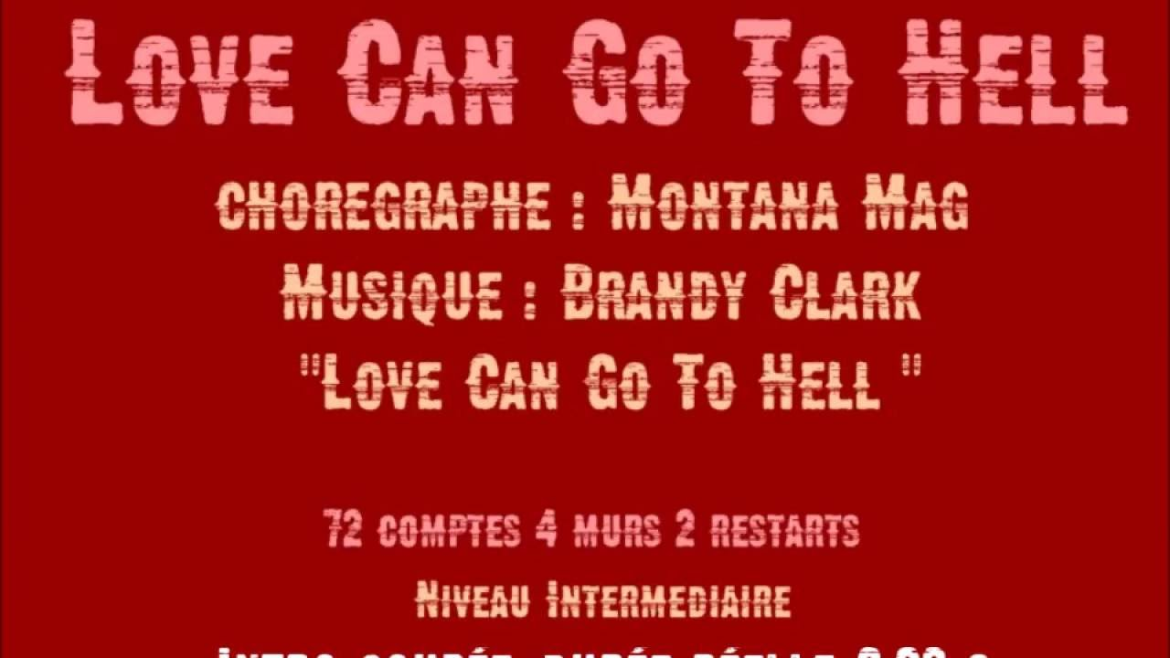 LOVE CAN GO TO HELL - Line Dance - Montana Mag
