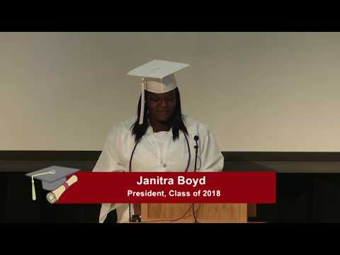 Academy at Virginia Randolph:  Student Speeches