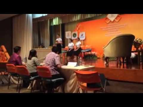 ชนะเลิศประกวดมารยาท ระดับประเทศ ธนาคารธนชาต ประจำปี 2558 ประเภทอุดมศึกษา