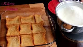 Etimek tatlısı nasıl yapılır - Muhallebili etimek tatlısı tarifi - Tatlı tarifleri