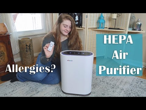🌼AIR PURIFIER HEPA UV-CIONIZERWEBETOP (480 sq ft) Air Cleaner Review - COUPON CODE! 👈