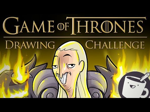 Artists Try Drawing Game of Thrones Characters (That They've Never Seen Before)