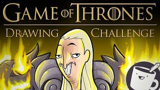 Artists Try Drawing Game of Thrones Characters (That They