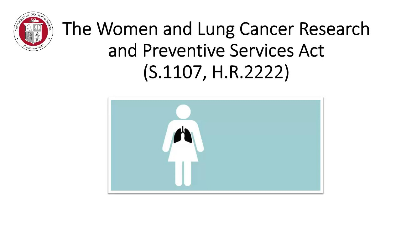 2019 STS Legislative Fly-In: Reduce Incidences of Lung Cancer