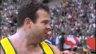 IAAF World Athletics Championships 2003 Paris Shot put Final