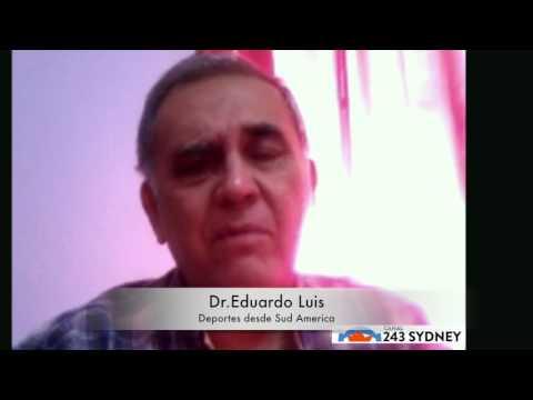 Deportes con Eduardo Luis(Canal 243 Sydney)
