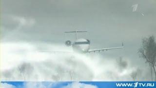 カザフスタンで旅客機墜落 ロシアTV thumbnail
