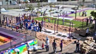 SEGA, Kaboom, and Youth UpRising Build a Playground in 1 Day