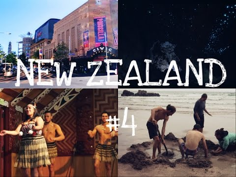 Hot Water Beach, Waitomo Caves & Rotorua I NEW ZEALAND Vlog #4