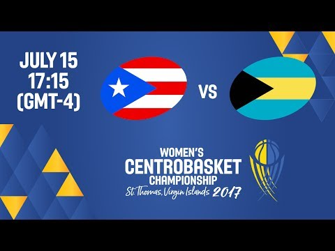 Puerto Rico vs Bahamas - Full Game - Women's Centrobasket Ch