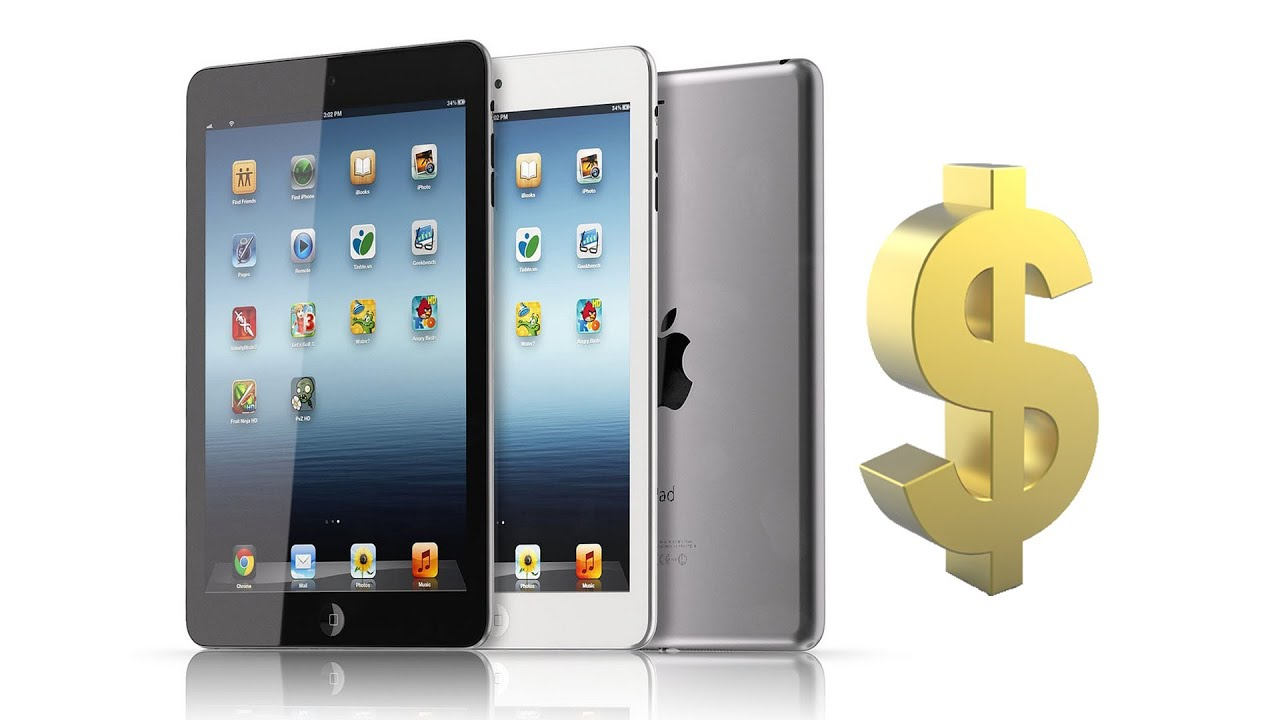 ipad mini how much will it cost youtube. Black Bedroom Furniture Sets. Home Design Ideas