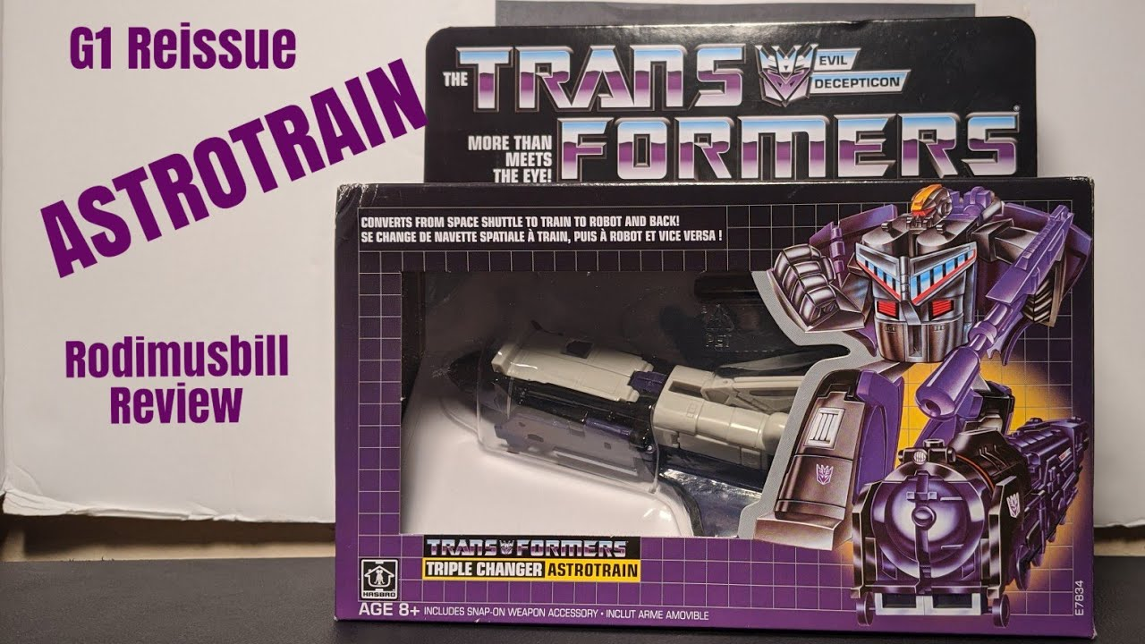 G1 Reissue Astrotrain Walmart Exclusive Review by Rodimusbill