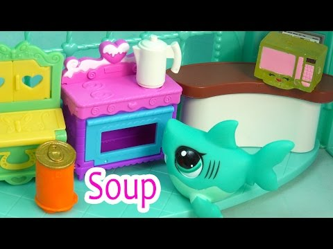 LPS - Soup & Homework - School Of Sharks Series Video Movie Littlest Pet Shop Part 6 Cookieswirlc