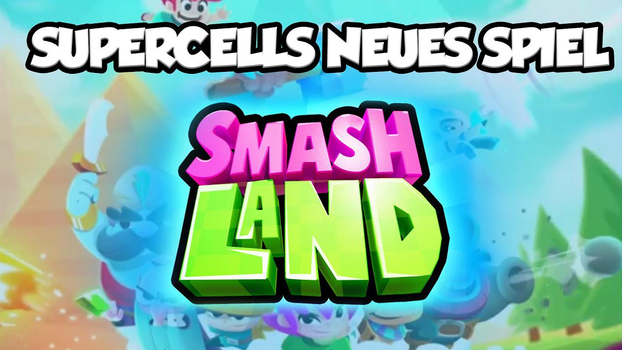SUPERCELL CANCELOU ESSE JOGO - Smash Land