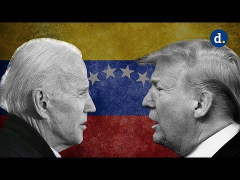 Venezolanos con Trump vs Venezolanos con Biden, el debate final