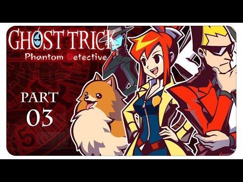 Ju spielt: Ghost Trick - Phantom Detective #03 Mein Partner auf vier Pfoten [deutsch] Let's Play