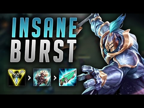 WHY DOES JAX BURST THIS MUCH DAMAGE?! INSANE FULL DAMAGE JAX CARRY - League of Legends Gameplay