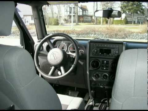 2009 Jeep Wrangler Rubicon Black used For Sale a Vendre Montreal Laval