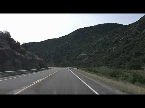 Grand Junction to Grand Mesa Byway: 1of2 Colorado Drivelapse