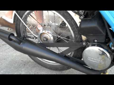 Honda 1980 NC50 Express with weak ends exhaust