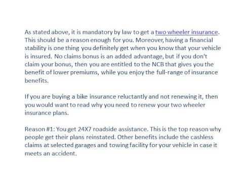 How to Reinstate Two Wheeler Insurance