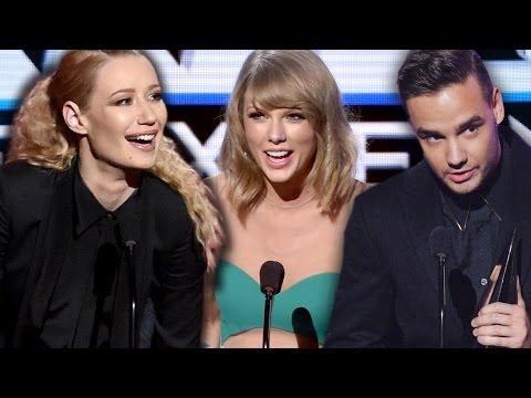 American Music Awards 2014 WINNERS RECAP: Iggy Azalea, One Direction, Taylor Swift