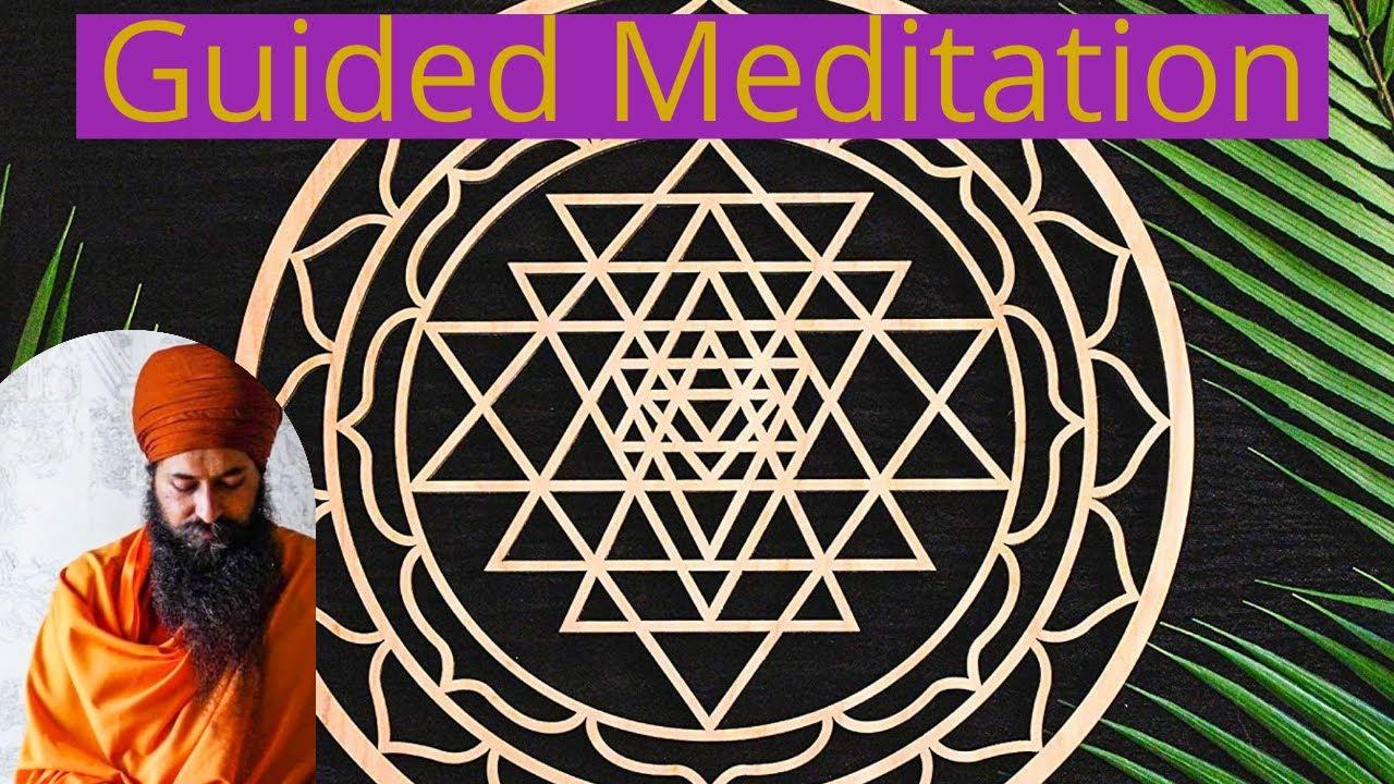 Guided meditation with Yogi Amandeep Singh | Clearing Samskaras.