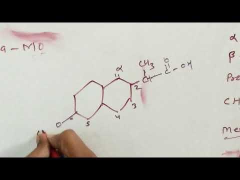 neproxane and ibuprofen aryl propionic acid derivative drug.