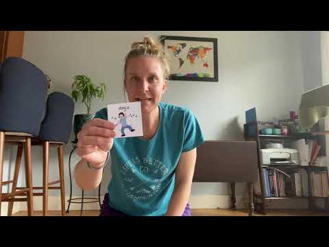 Pyramid Support At Home: Movement Go Fish