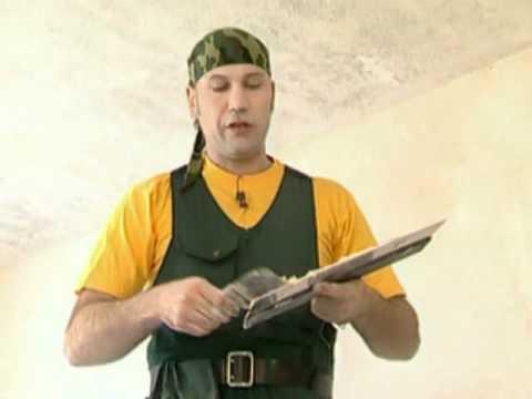 Как бороться с большими трещинами на потолке?