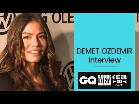 Demet Ozdemir ❖ Interview ❖ GQ Men Of The Year Awards ❖ Can Yaman ❖ English ❖  2019