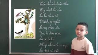 Tiếng Việt lớp 2 [Tập đọc] - Vè chim