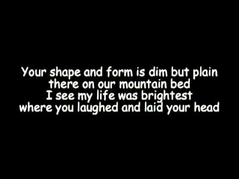 Remember the Mountain Bed - Billy Bragg and Wilco(lyrics)