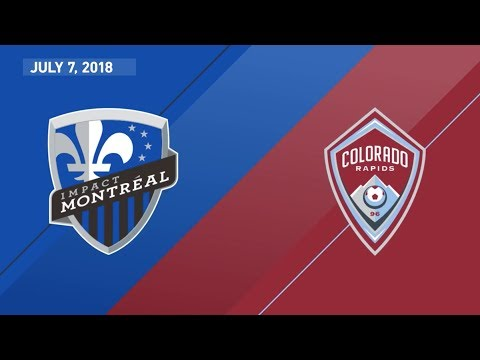 HIGHLIGHTS: Montreal Impact vs. Colorado Rapids | July 7, 2018