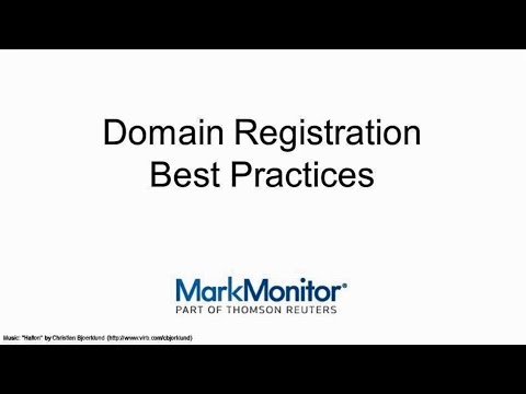 Domain Registration Best Practices