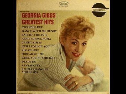 Georgia Gibbs - Candy Kisses (c.1963).