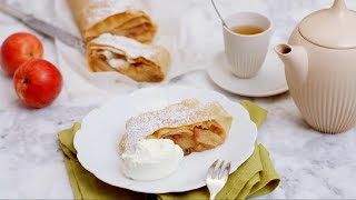 How to make Apple Strudel (Apfelstrudel) - Recipe
