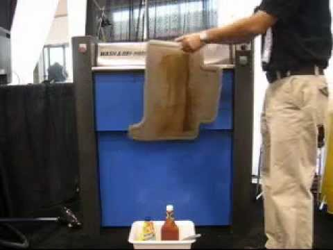 Rhino Mat Car Mat Cleaning Machine Cleanwd Com Youtube