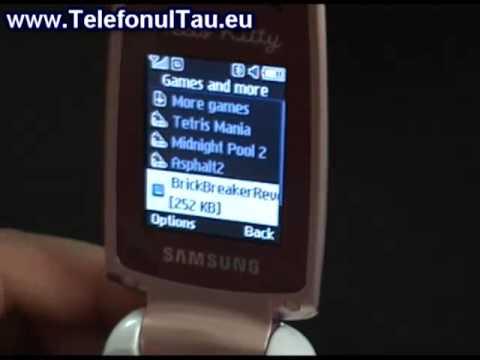 Samsung E2210B Hands on - www.TelefonulTau.eu -
