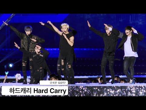 갓세븐 GOT7[4K 직캠]하드캐리 Hard Carry@20161022 Rock Music