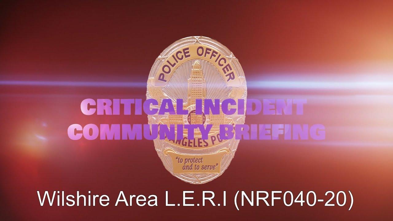 Wilshire Area LERI 05/30/20 (NRF040-20)