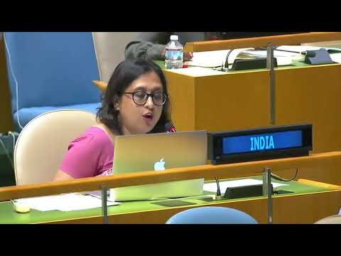 India Responds To Pakistan's 1st Right Of Reply In UNGA United Nations