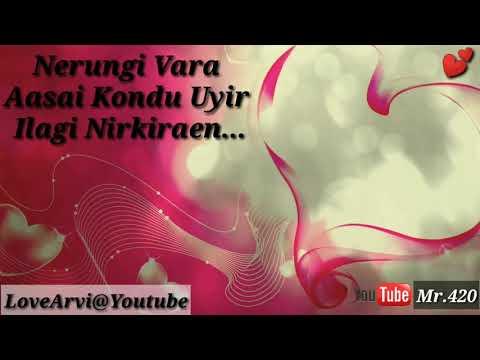 Nimirnthu Nil(Negizhiyinil Nenjam Konden)Whatsapp_Status